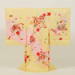No12 クリーム地に毬と桜