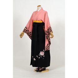 kf-7 ピンク地袖口黒桜