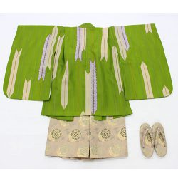 3o-8 3歳羽織袴トータルセット