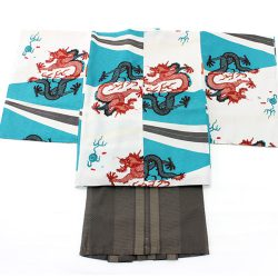 5o-26 5歳羽織袴セット