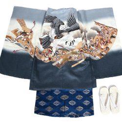 5o-33 5歳羽織袴セット