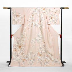 H-31 ピンク地に松,桜