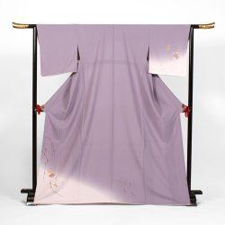 H-71 薄紫地に菊