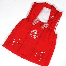 被布コート 赤刺繍No2