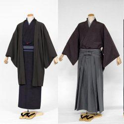 AS-26 男着物・羽織 or 着物・ 袴セット