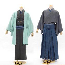 AS-33 男着物・羽織 or 着物・ 袴セット