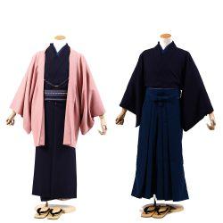 AS-35 男着物・羽織 or 着物・ 袴セット