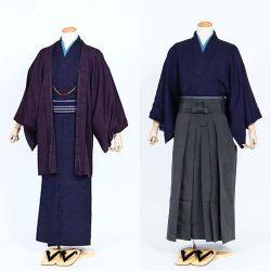 AS-38 男着物・羽織 or 着物・ 袴セット