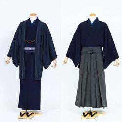 AS-40 男着物・羽織 or 着物・ 袴セット