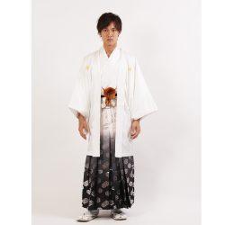白紋付 羽織袴セット