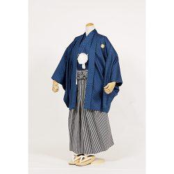 男の子・羽織袴 紺 小学生専用サイズ