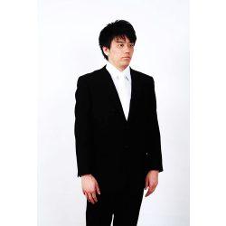 男性略礼服 黒シングルスーツ