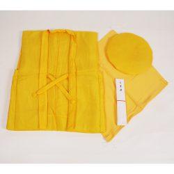黄色のちゃんちゃんこセット(米寿・卒寿)