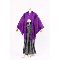 ご長寿 紫紋付セット